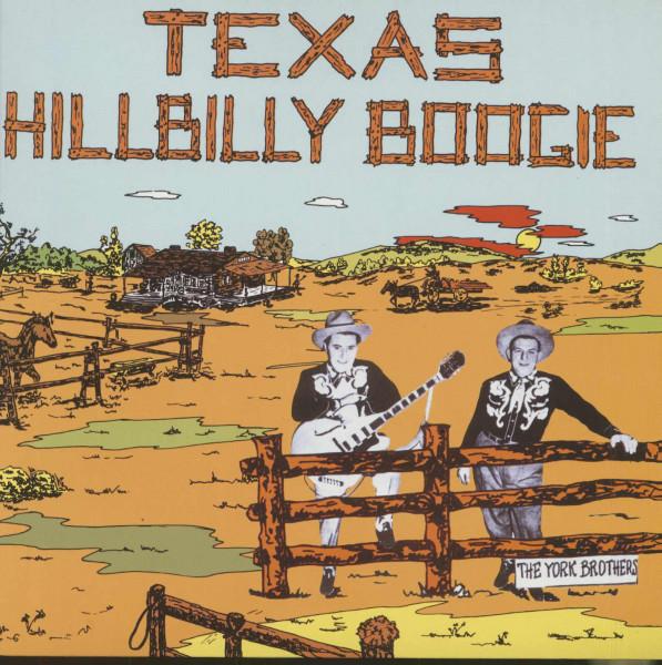 Texas Hillbilly Boogie (LP)
