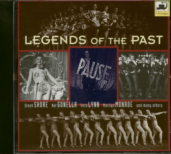 Legends Of The Past (CD)