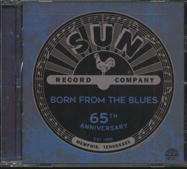 Sun Records 65th Anniversary - Born From The Blues (CD)