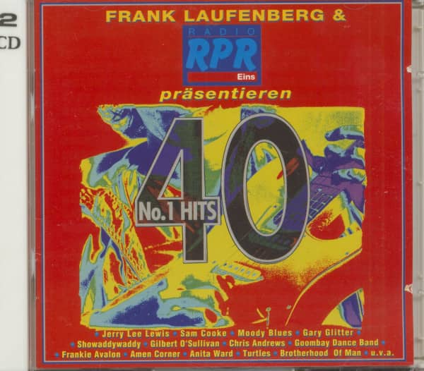 40 #1 Hits 2-CD - Frank Laufenberg & Radio RPR