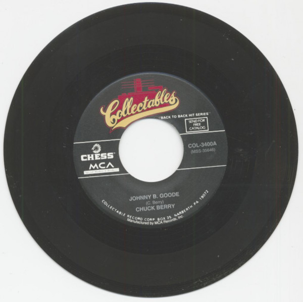 Johnny B. Goode - Little Queenie (7inch, 45rpm)