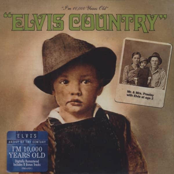 Elvis Country...plus (EU)