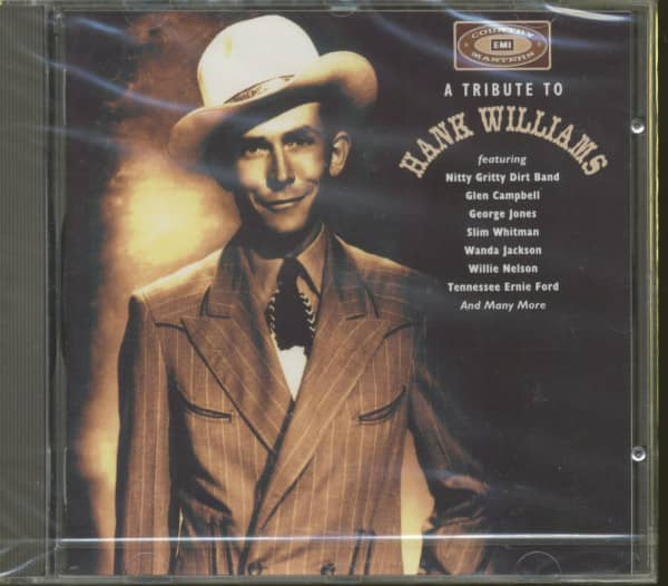 A Tribute To Hank Williams (CD)