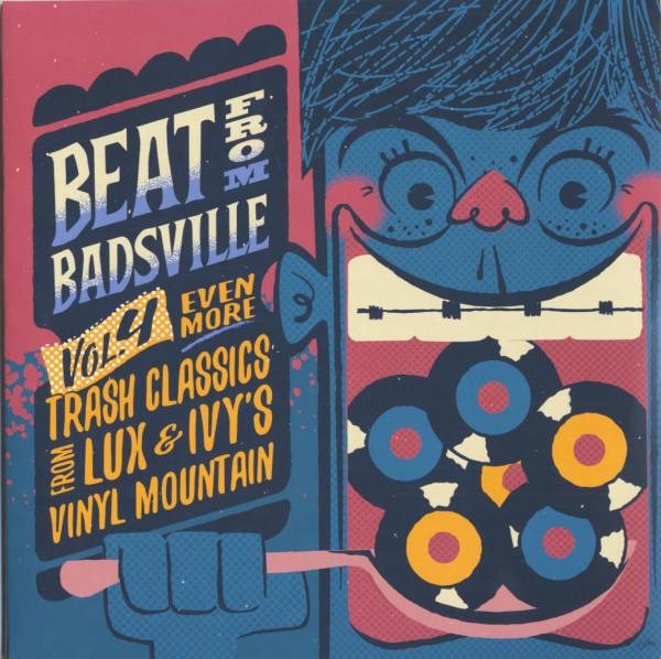 Beat From Badsville Vol.4 (2-LP, 10inch)
