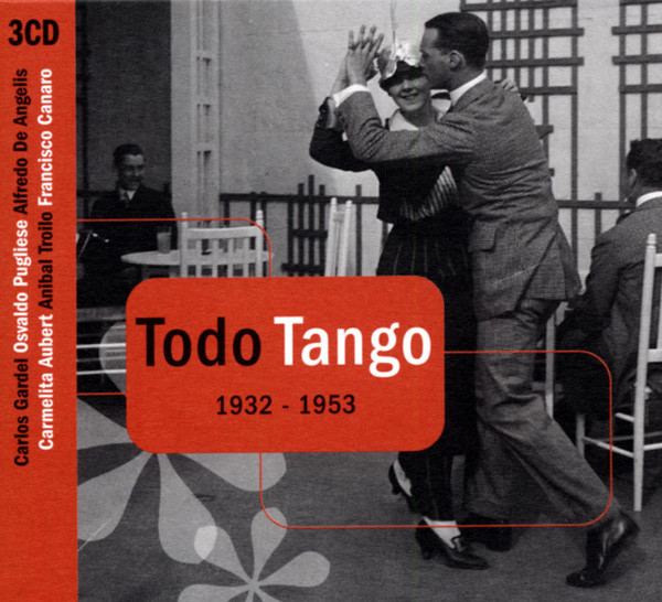 Todo Tango 1932-1953 (3-CD)