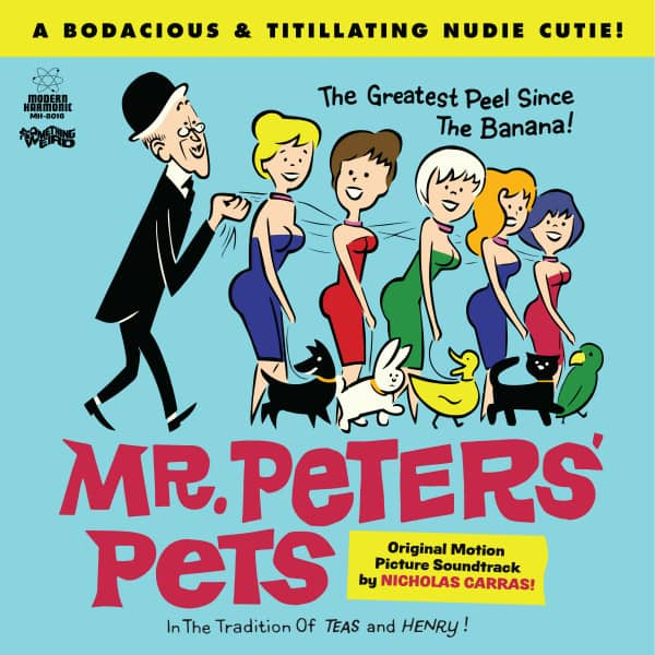 Mr. Peters' Pets - Motion Picture Soundtrack (LP & DVD)