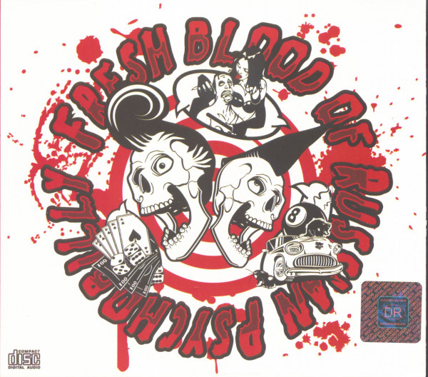 Fresh Blood Of Russian Psychobilly (CD)