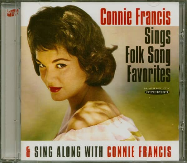Sings Folk Song Favorites - Sing Along With Connie Francis (CD)