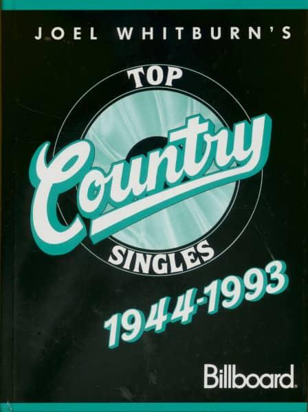 Top Country Singles - 1944-1993 by Joel Whitburn