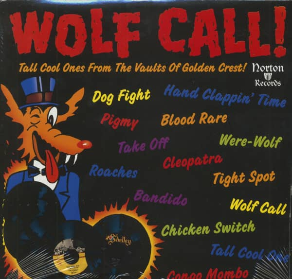 Wolf Call - 18 Cool Ones From The Vaults Of Golden Crest (LP)