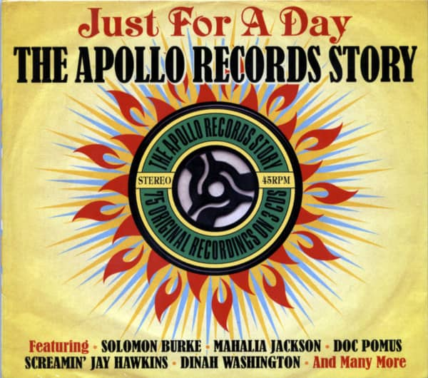 Just For A Day - The Apollo Records Story (3-CD)