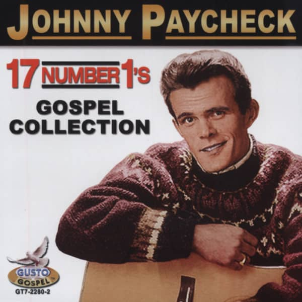 Johnny Paycheck Cd Gospel Collection 17 Number 1s Bear Family
