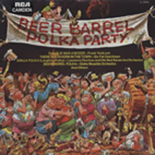 Beer Barrel Polka Party (1974) Cut-Out