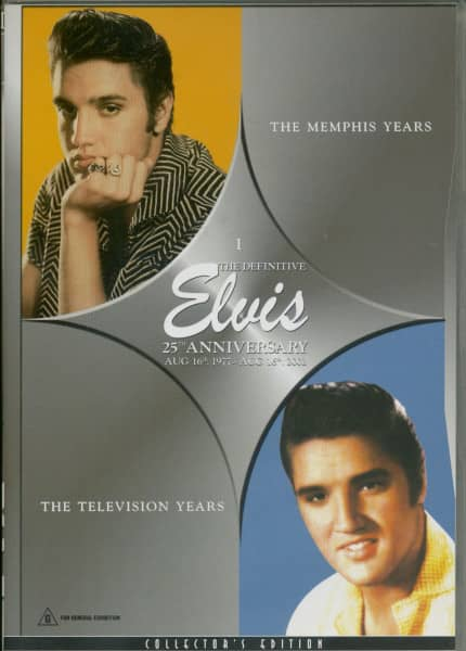 Elvis - The Memphis Years & The Television Years (DVD)