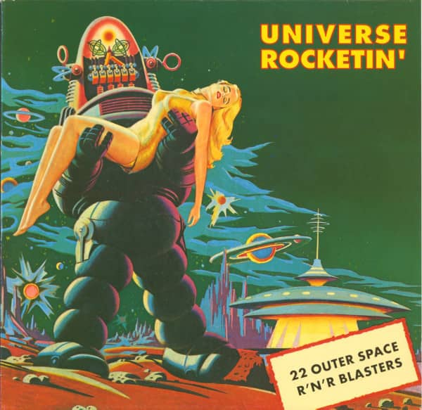 Universe Rocketin' - Outer Space Blasters (LP)