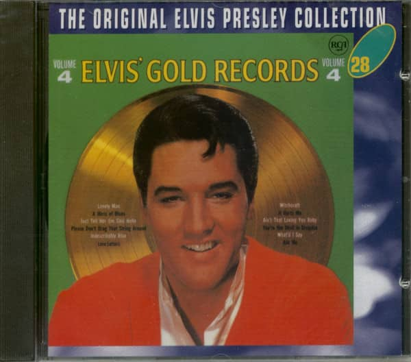 Elvis' Gold Records Vol.4 - The Original Collection #28 (CD)
