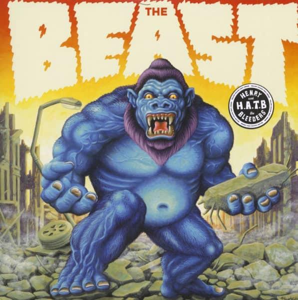 The Beast (LP, 10inch, Yellow Vinyl, Ltd.)