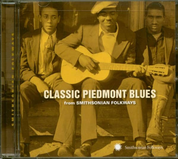 Classic Piedmont Blues - From Smithsonian Folkways (CD)