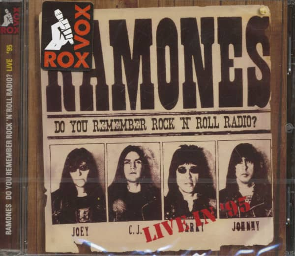 Do You Remember Rock 'N' Roll Radio? - Live In '95 (CD)