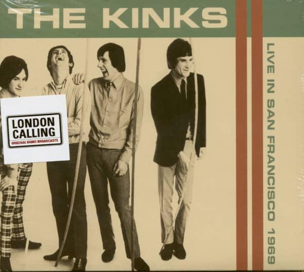 Live In San Francisco 1969 (CD)
