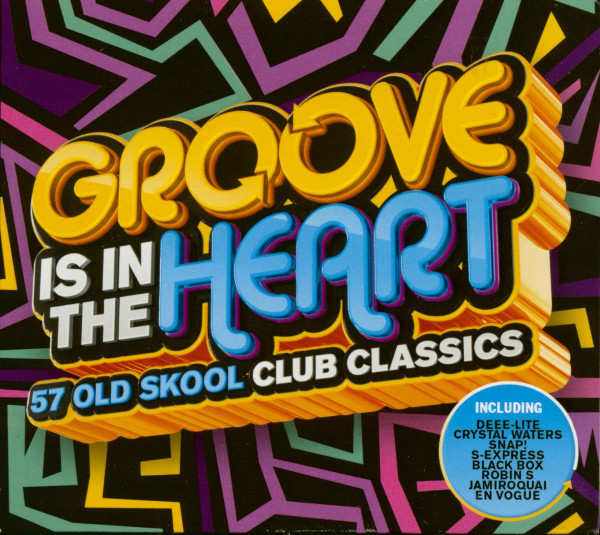 Groove Is In The Heart - 57 Old Skool Club Classics (3-CD)