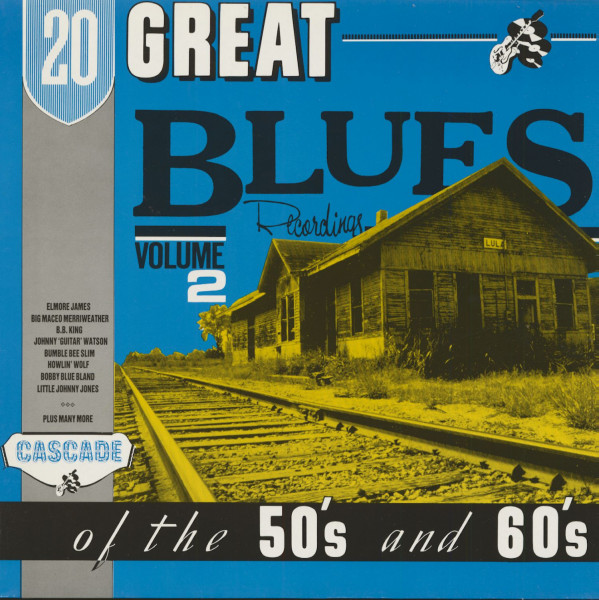20 Great Blues Recordings, Vol.2 (LP)