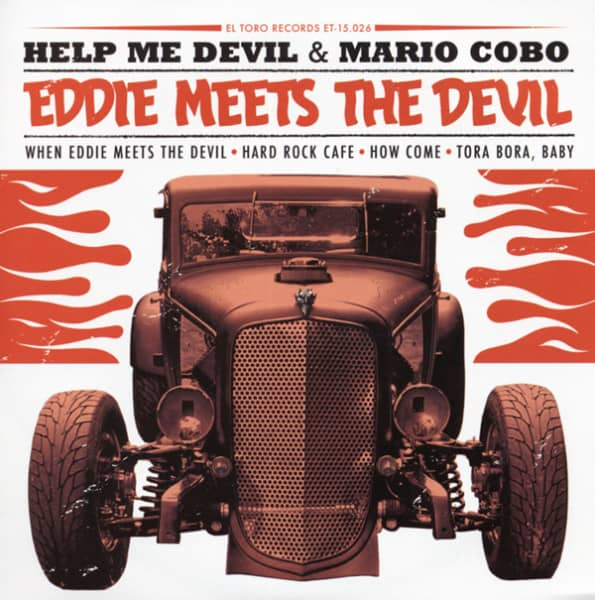 Eddie Meets The Devil 7inch, 45rpm, PS