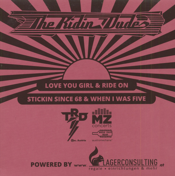 Love You Girl (7inch, EP, PS, SC)