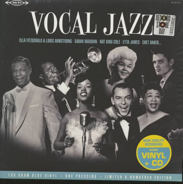 Vocal Jazz (LP with CD, 180g Vinyl, Ltd., RSD)