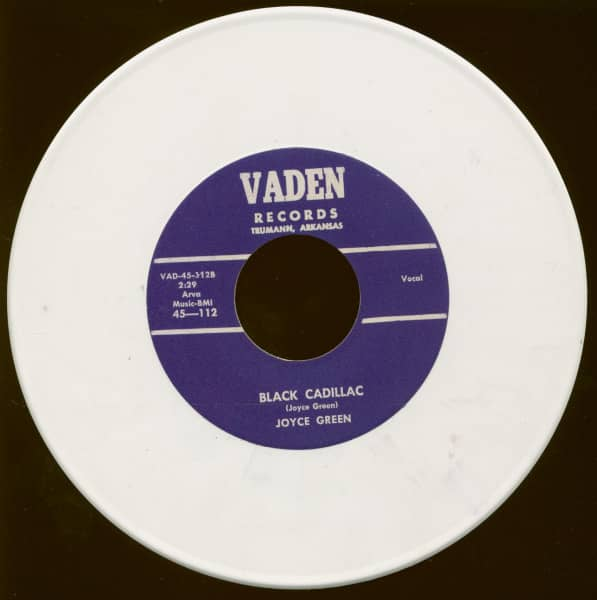 Black Cadillac - Tomorrow (7inch, 45rpm, Colored Vinyl)