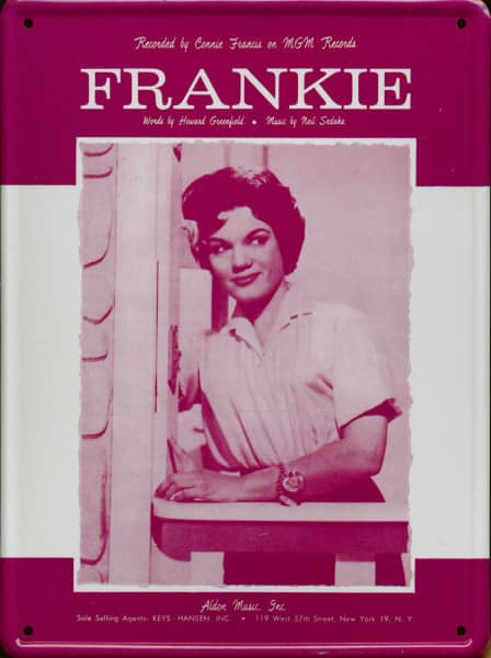 Collector Card #101 - Connie Francis