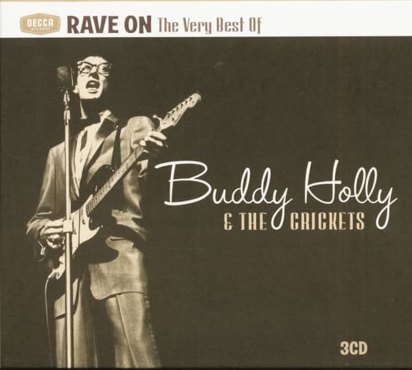Rave On - The Very Best Of Buddy Holly & The Crickets (3-CD)