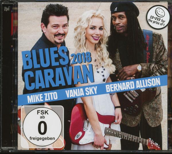Blues Caravan 2018 (CD & DVD)