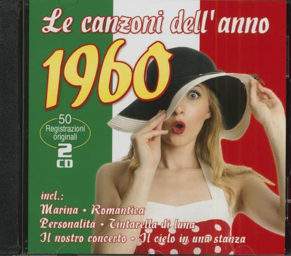 Le canzoni dell'anno 1960 (2-CD)