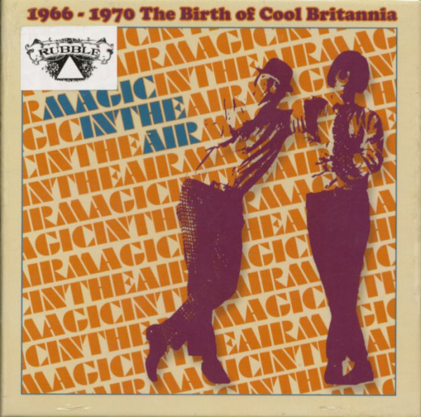 Magic In The Air - The Birth Of Cool Britannia 1966-1970 (3-CD)