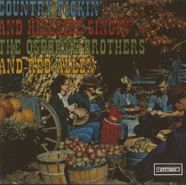 Country Pickin' And Hillside Singin' (Vinyl)