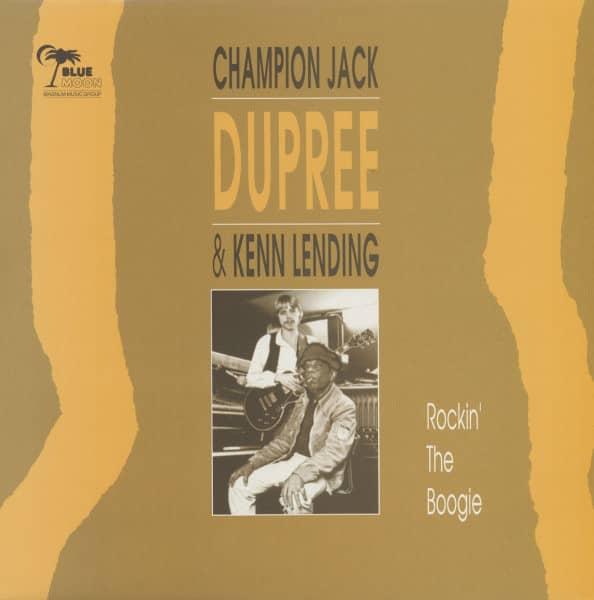 Champion Jack Dupree & Kenn Lending - Rockin' The Boogie