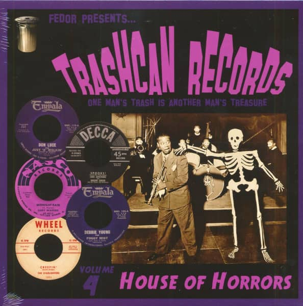 Trashcan Records Vol. 4 - House Of Horrors (LP, 10inch)