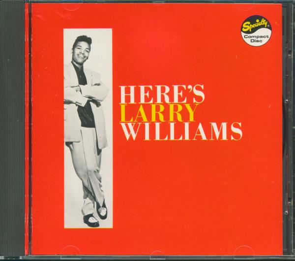Here's Larry Williams (CD)
