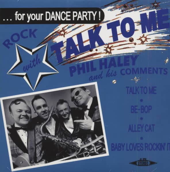 Talk To Me (7inch, 45rpm, EP, BC, PS)
