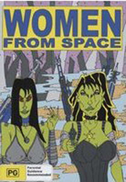 Women From Space - Collection (3-DVD)