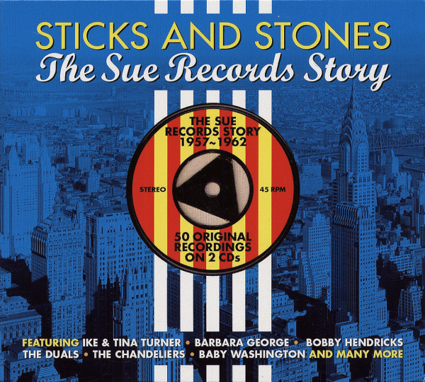 Sticks And Stones - The Sue Records Story (2-CD)