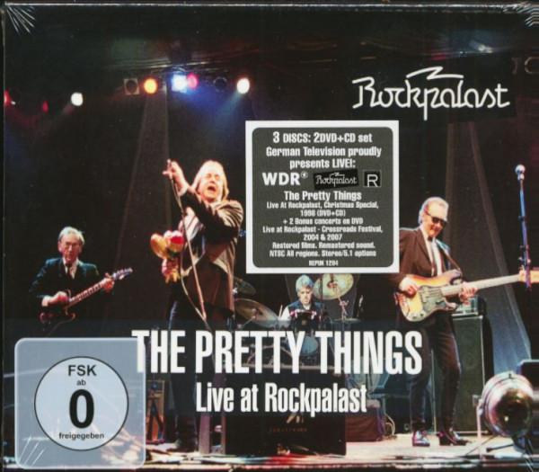 Live At Rockpalast 1998, 2004 & 2007 (CD & 2-DVD)