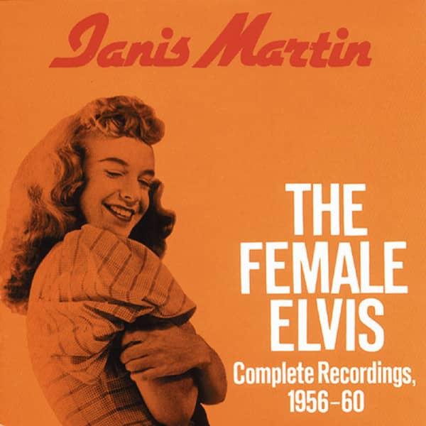 The Female Elvis - Complete Recordings 1956-60 (CD)
