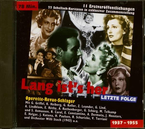 Lang ist's her, letzte Folge (CD)