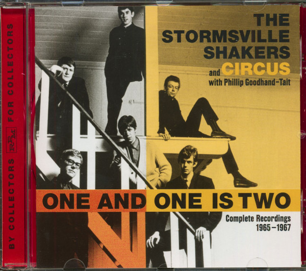 The Stormsville Shakers And Circus - One And One Is Two (CD)