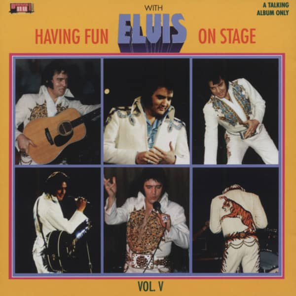 Having Fun With Elvis On Stage Vol.5 (CD)