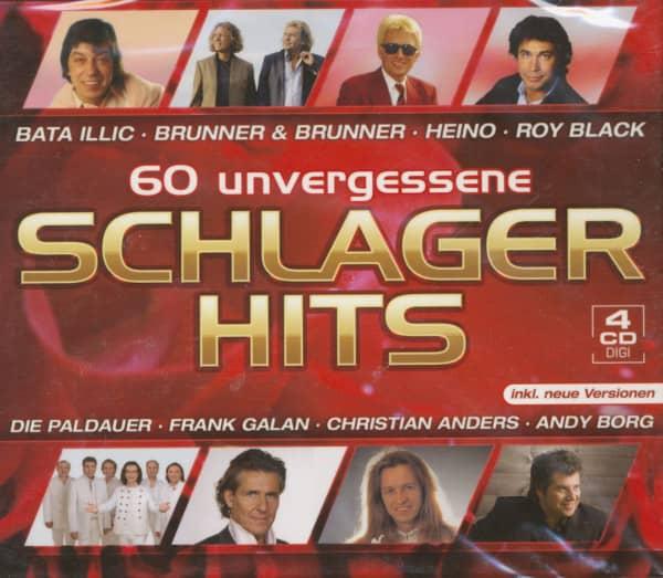 60 Unvergessene Schlager Hits (4-CD)