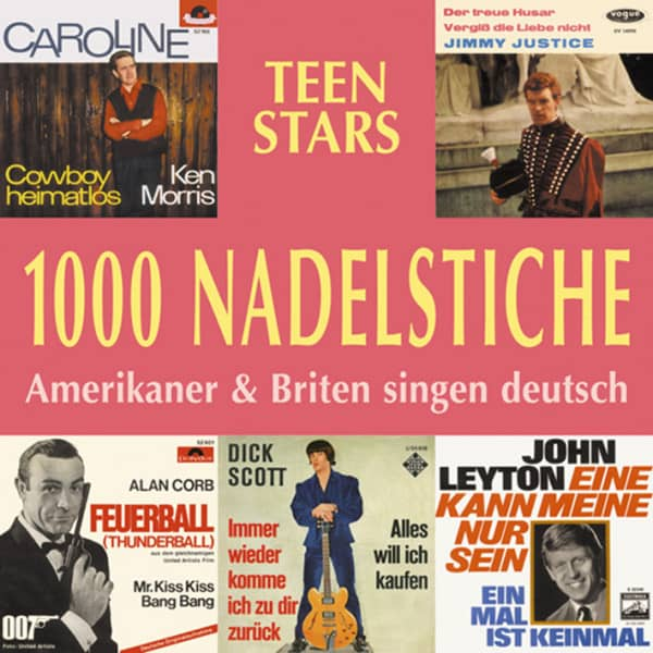 Vol.05, Teen Stars - Amerikaner & Briten singen deutsch (CD)