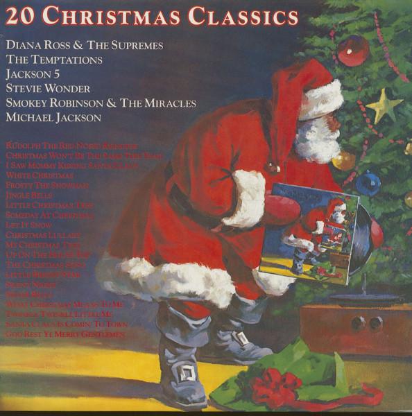 20 Christmas Classics - Tamla Motown (LP)